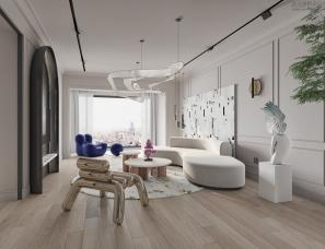 菲拉设计|「日出·印象  」网红王逗逗的家200㎡