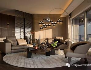 梁志天设计--上海华山公寓