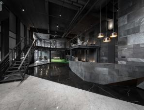 乘四研究所--将严肃的办公空间转变为轻盈的活动场所