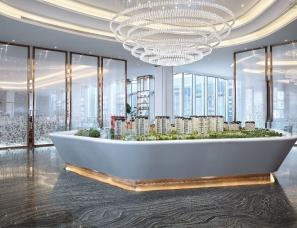 上海大研建筑设计--天津中建塘沽湾项目营销中心