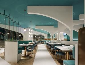 餐饮设计公司之【艺鼎设计·椰客】270㎡清新的椰林海岸约会