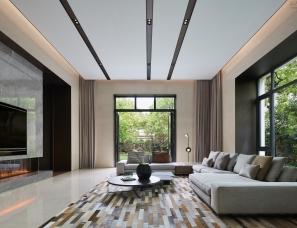 壹舍设计--1500m²上海西郊明苑别墅与自然同居展顶级大宅气度