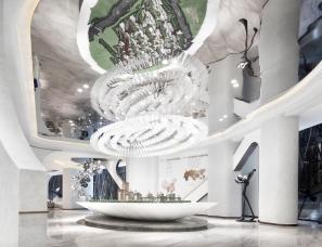 纳沃设计--碧桂园·华侨城天境售楼处