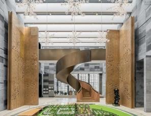 上海牧笛设计--万科·合肥中央公园销售中心