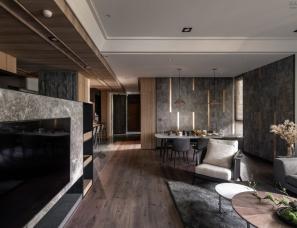 维耕设计-- 精心订制一家四口理想的人文现代宅