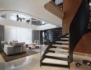 瑞观设计--郑州龙之梦复式别墅