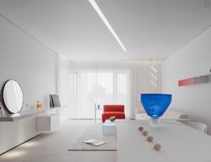 朴居设计--清澄如初的家150㎡