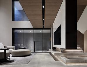 壹舍设计--郑州永威·山悦合院333㎡+中叠样板间143㎡