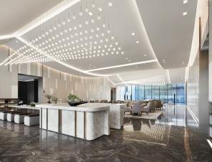 上海C.H.Y.室内设计--融创延安宸院售楼处