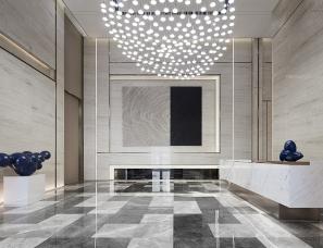 禾悉设计--金地·弘阳成都梵锦108销售中心