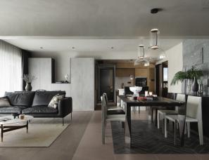深圳薄荷设计--五室二厅,这样布局 1㎡ 都不浪费!