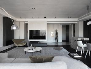境象设计--构叙 | 温州乐清215㎡简约大平层私宅