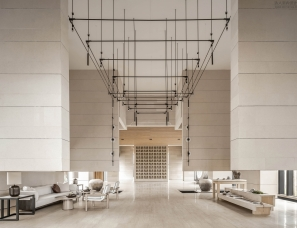 WJID维几设计--净化心灵的东方禅学馆 绿地明镜湾售楼处1500㎡