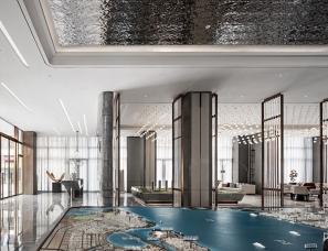 钧廷设计--时代律动,中山万科 西湾汇销售中心