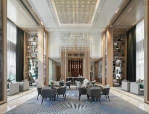 帝凯室内设计--钱隆双玺销售中心
