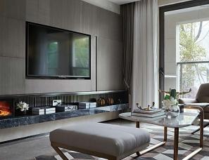 杭州易和室内设计--上塘宸章A2样板房