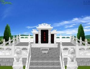 墓地设计案例效果图