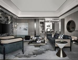 璞云空间设计+斓后装饰设计--滨江大院420m²