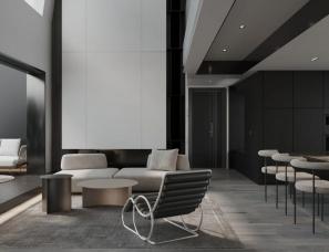 涵瑜设计--深圳·光明星河天地240㎡私宅