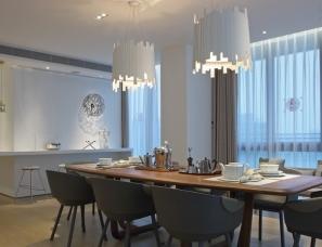 于强设计--深圳深湾一号滨海复式公寓