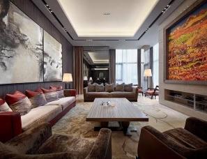 SCD(香港)郑树芬设计--昆明•阳光花园别墅
