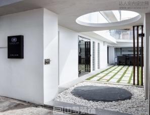 现代简约风格酒店设计案例欣赏——中梦装饰