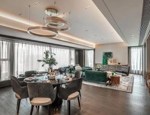 凯达Aedas+安奥拉AN-AURA设计--深圳中心天元330m²大平层超级豪宅