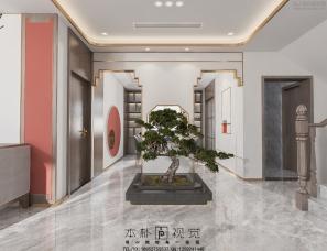 本朴视觉——中式客餐厅