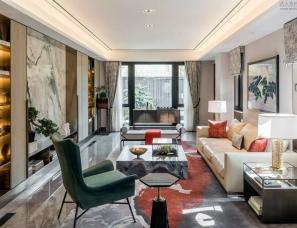 上海朱周空间设计-北京金茂府设计的样板间