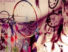 从没见过这样的捕梦网,挂起来的安眠艺术!