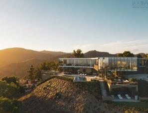 洛杉矶超现代私宅设计
