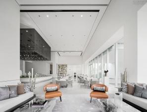 HWCD设计--南京金陵华夏中心售楼处