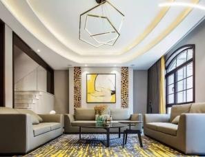 筑维空间设计--优雅从容新奢美墅450㎡