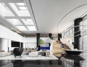 于强室内设计--南昌万科 · 万创科技城产业展示中心