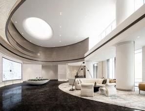MOD墨设设计--弘阳·乌镇昕悦棠售楼中心