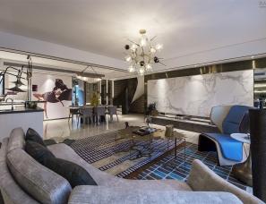 一然设计--美的·盛堂样板房