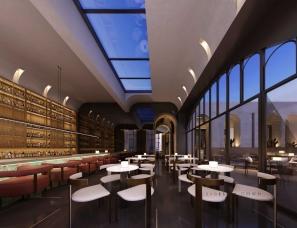 共向设计新作|新乡SEE WELL世外餐吧 餐饮与酒文化的融合