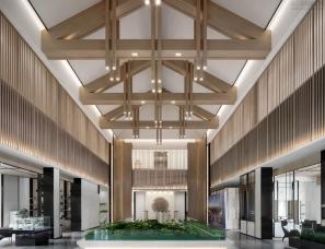 久格旭设计--南充龙湾·凤凰台售楼处