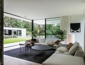 Dieter Vander Velpen新作--比利时极简豪宅