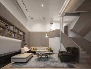 马蹄莲空间设计--南京玛斯兰德独栋别墅400㎡