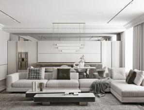 TOL'KO--克制的奢华与极致的优雅住宅230㎡