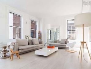 永远不会失色的白色空间-公寓