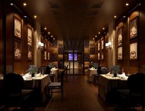 西餐厅设计案例效果图