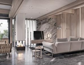 TOL'KO Interior设计--GUEST FLOOR in Osko Village