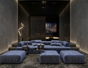 Diff新作 | 质感与品味的结合,舒适的休闲场所