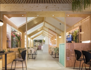 Nonna Design--结合日式与北欧风,西班牙Kamon餐厅