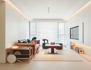 肃画建筑ADWANGStudio--上海太原邸公寓75㎡