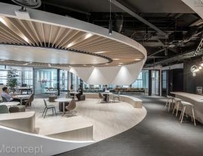 M Moser Associates--香港恒生银行总部 Digital Workplace
