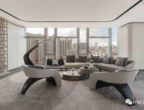 HWCD设计--深圳远洋滨海大厦展示中心