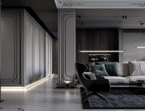 Sao Studio | 简约线条灰色系,一半是设计,一半是艺术